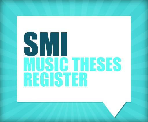 Musicology dissertations in progress